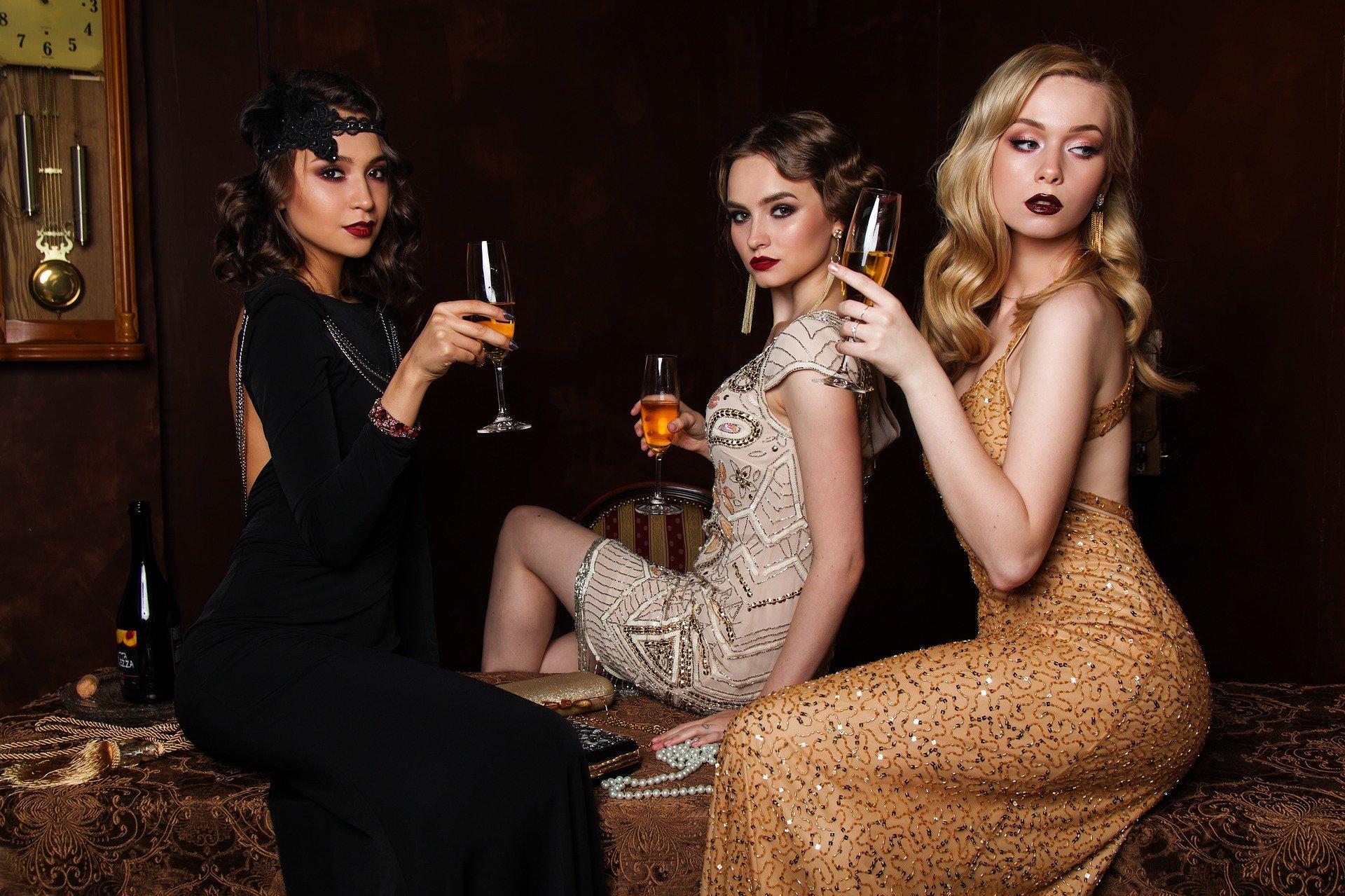 donne e champagne
