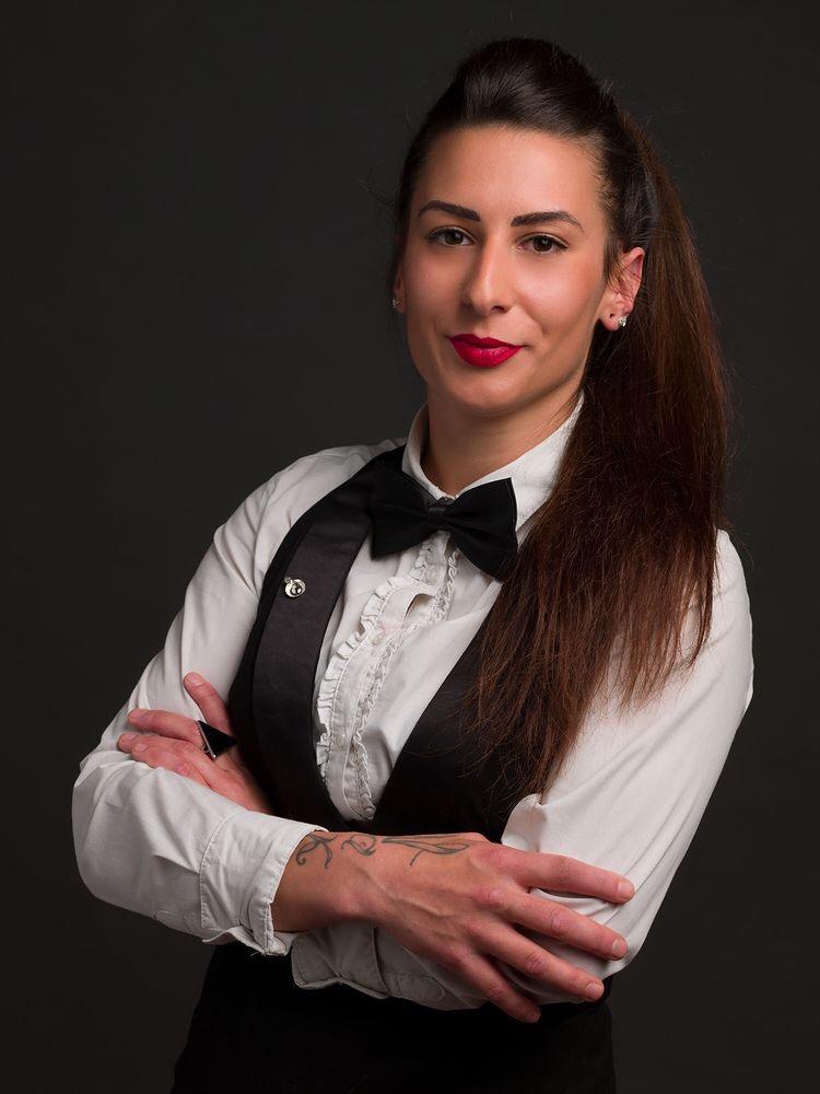 Francesca Lisa Canu, bartender, mixologist, chef de bar