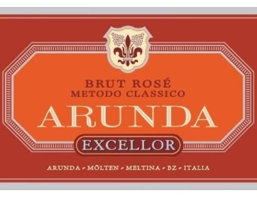 Arunda Excellor VSQ brut rosé millesimato2004 metodo classico