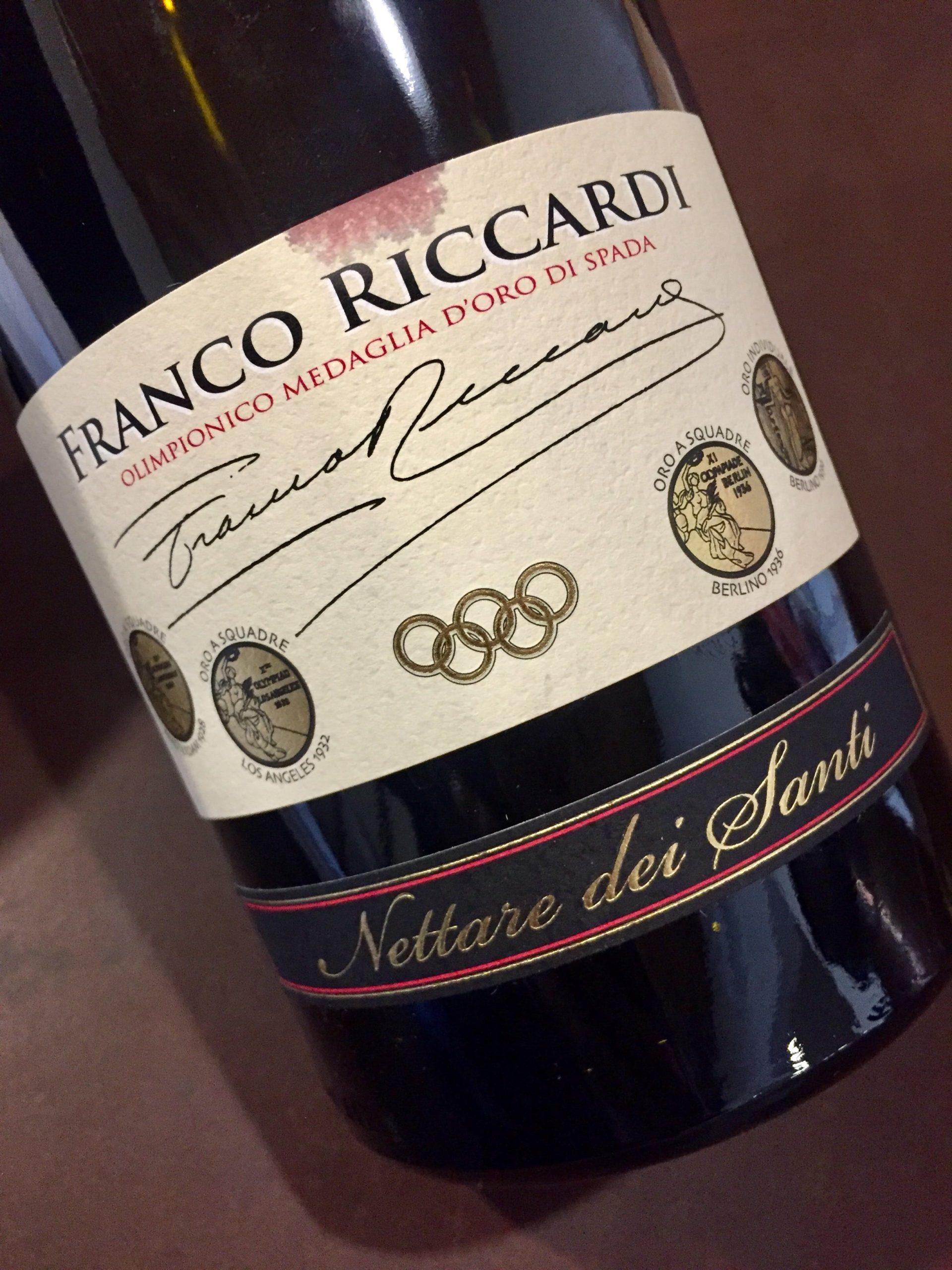 Franco Riccardi etichetta