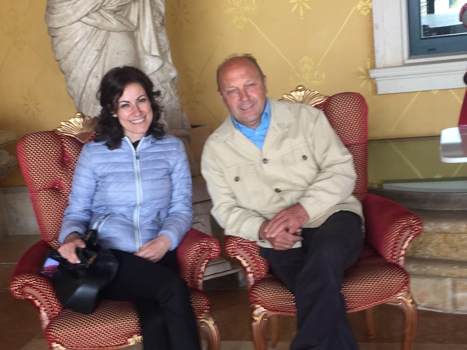 Io e Romano Dal Forno