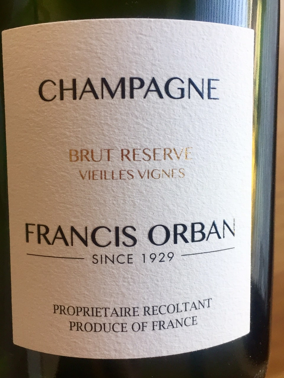Brut reserve Francis Orban
