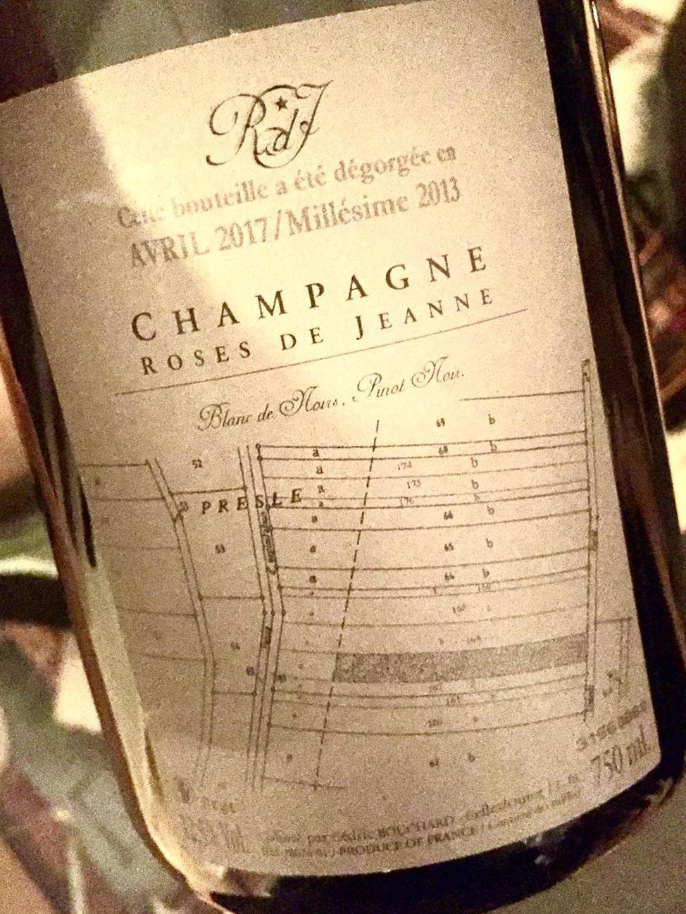 migliori Champagne Rose de Jeanne