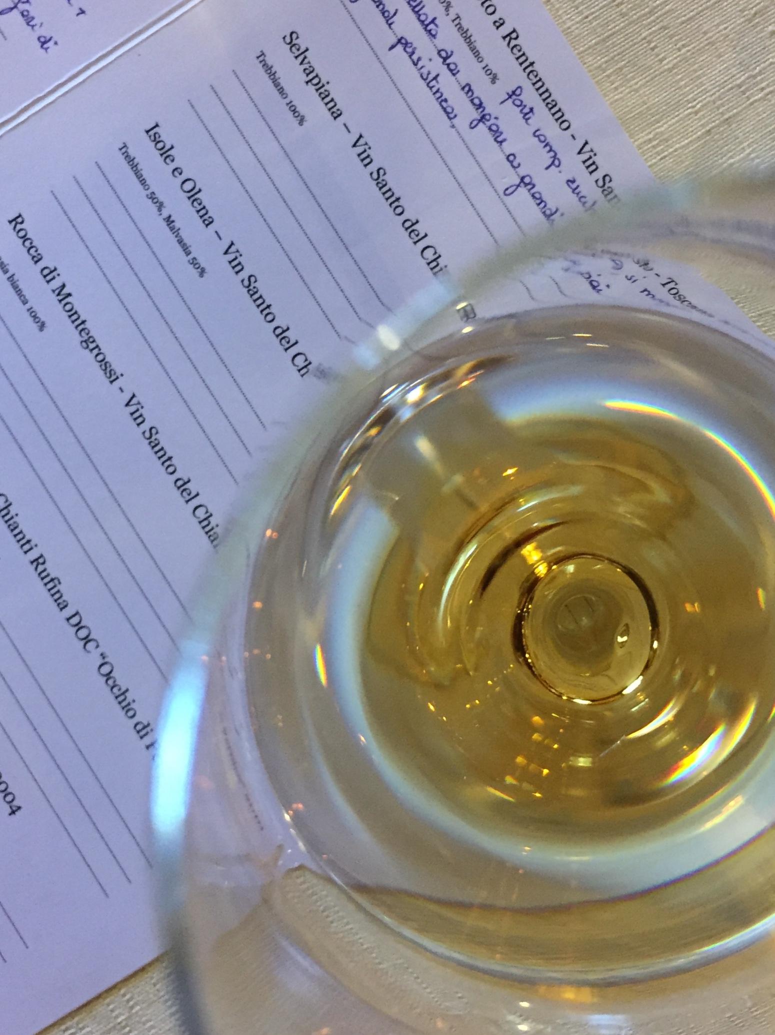 selvapiana vin santo del chianti rufina