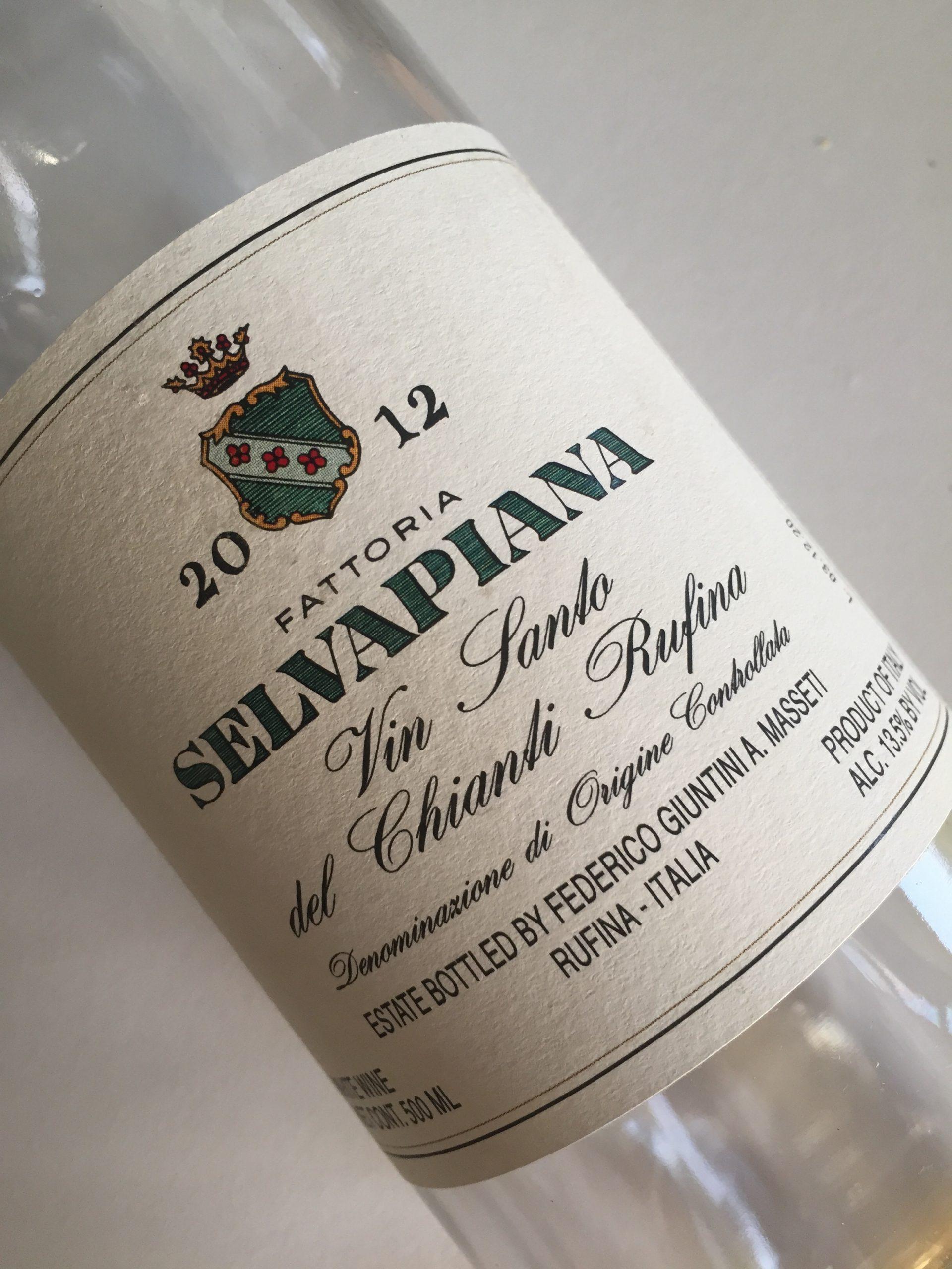 Selviapiana vin santo del chianti rufina