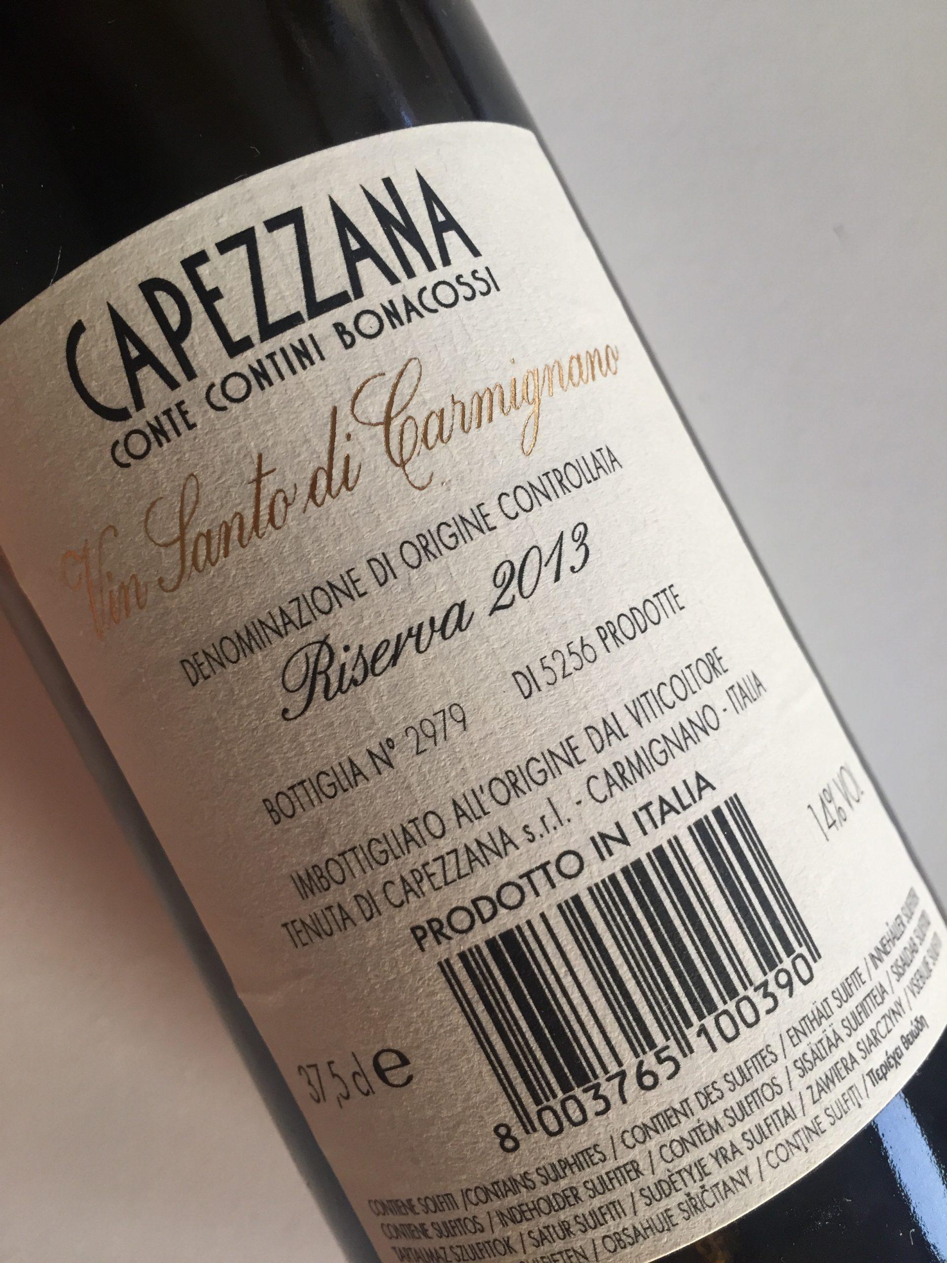 vin santo di carmignano capezzana