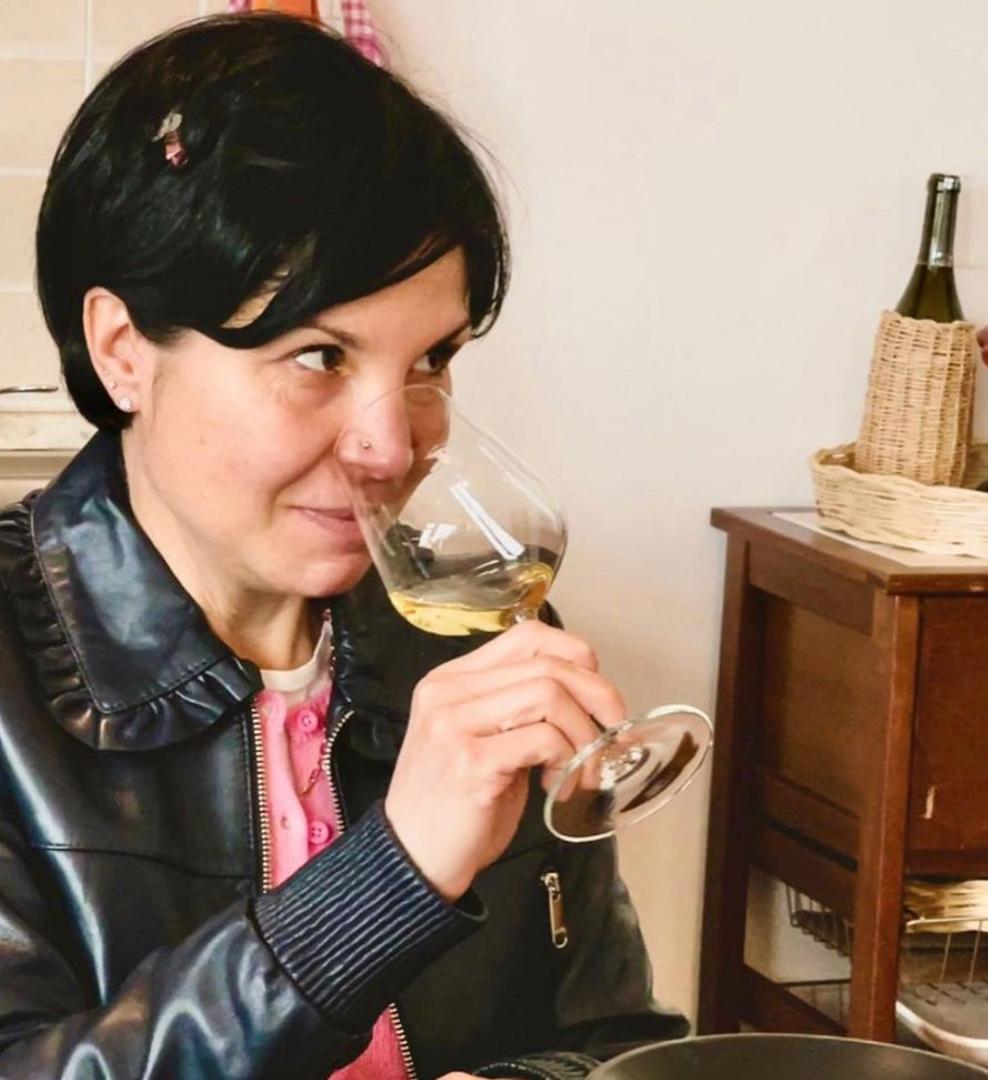 Sara Passeri wine hospitality Manager La Ciarliana