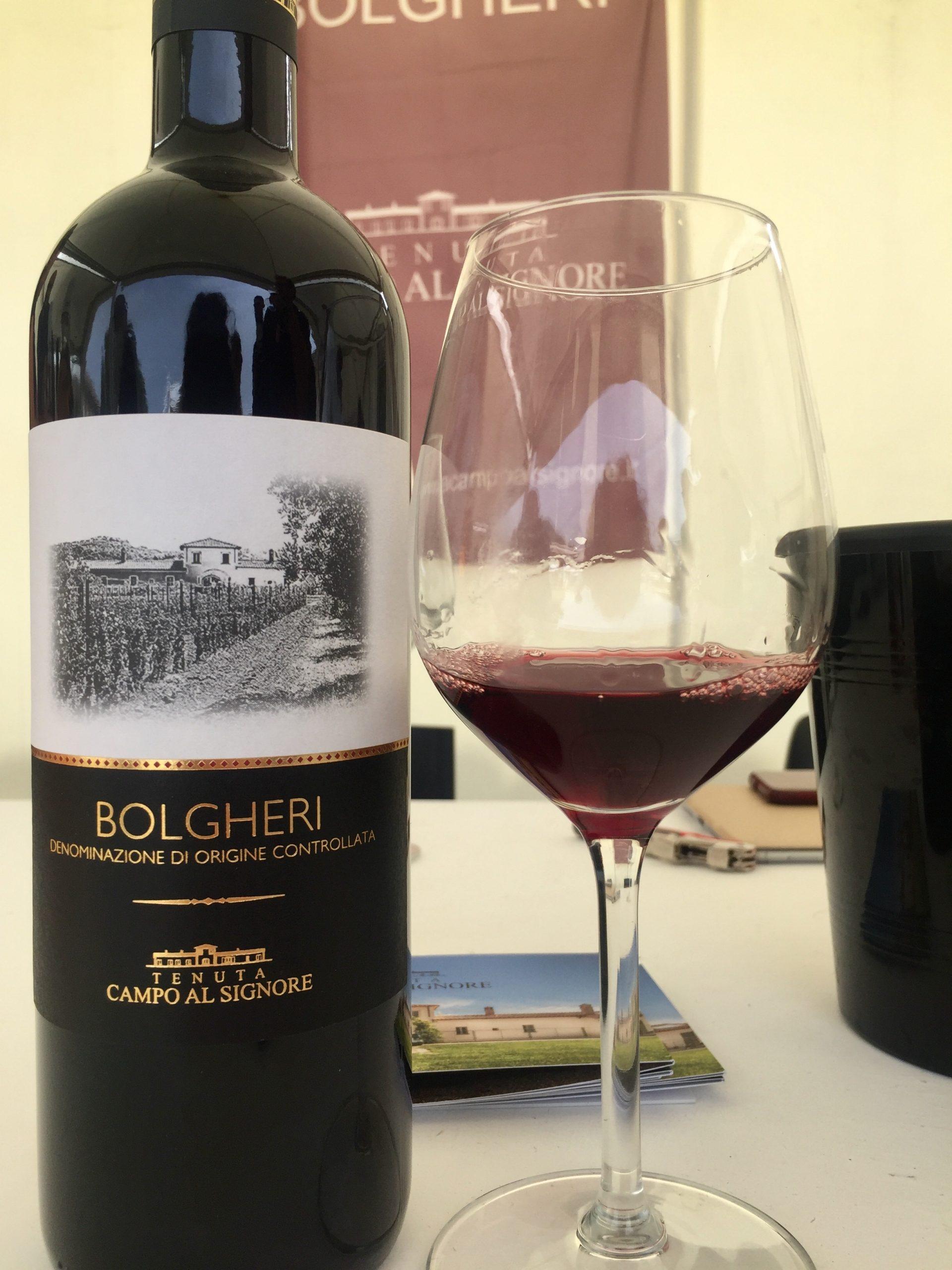 vini di Bolgheri merlot campo al Signore