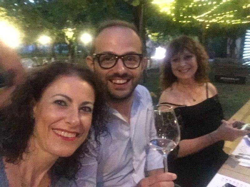 Bellussera, tannina, Olga Sofia Schiaffino di Wineloversitaly e Simone Roveda di Winerylovers vini veneti
