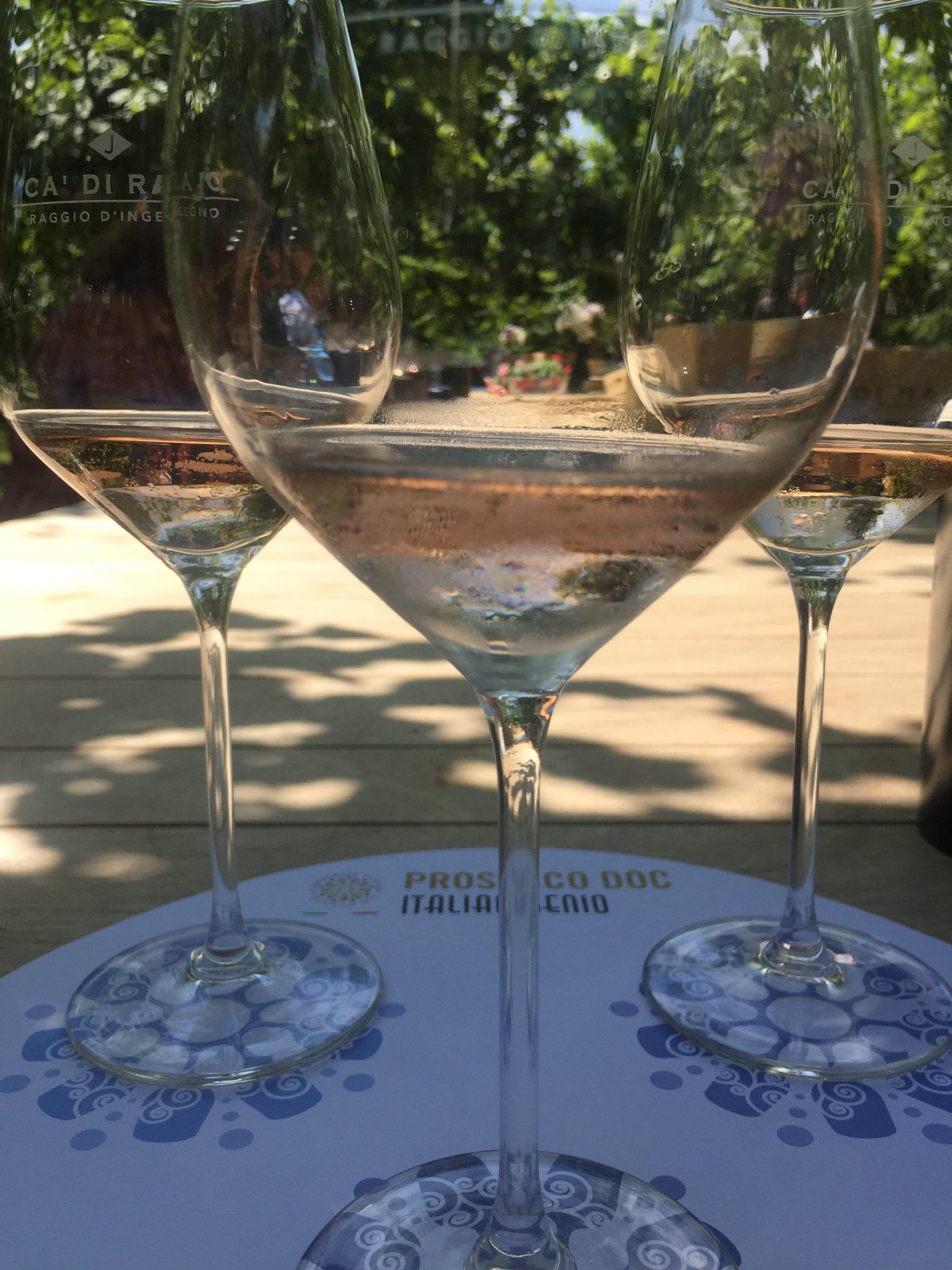 presentazione prosecco rosé all'evento beux2021 vino vini bolicine TANNINA
