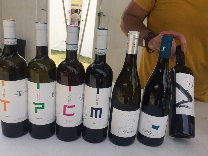i vini abruzzesi di Nic Tartaglia
