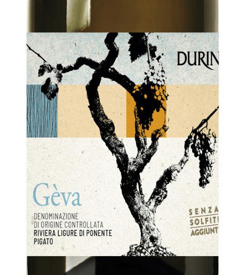 Geva pigato durin vino ligure bianco senza solfiti