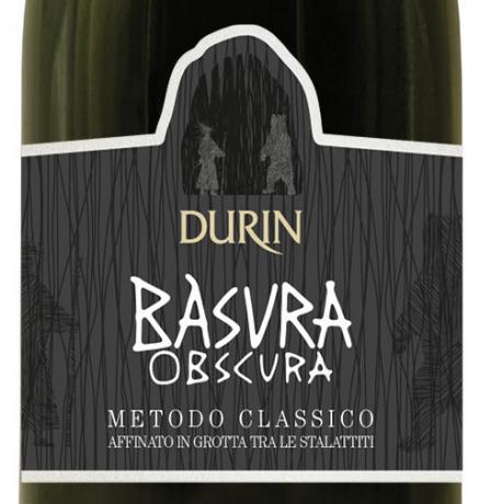 Durin spumante pigato Basura obscura metodo classico affina nelle grotte di Toirano