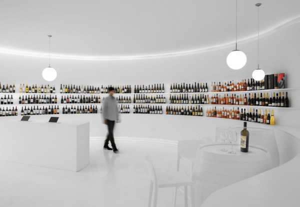 Wine concept store turismo del vino