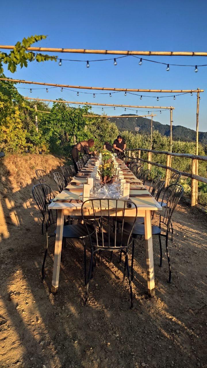 Cinque terre Capellini Cena in vigna Agrivino